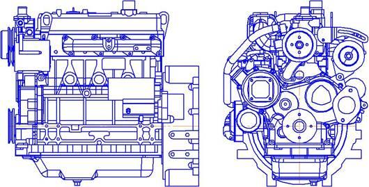 Двигатель CUMMINS A2300